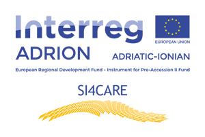 Social Innovation for integrated health CARE of ageing population in ADRION Region Logo